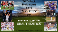 OKAUTHENTICS Two pack Multisport 8x10 Mystery Box (Series I) at PristineAuction.com