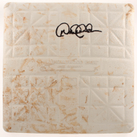 Derek Jeter Signed Game-Used Baseball Base (Steiner LOA) at PristineAuction.com