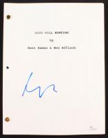 "Matt Damon Signed ""Good Will Hunting"" Movie Script (JSA COA) at PristineAuction.com"