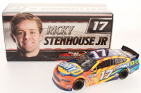 Ricky Stenhouse Jr. Signed LE NASCAR #17 Sunny D 2017 Fusion -1:24 Scale Die Cast Car (PA COA) at PristineAuction.com