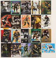 Lot of (20) Mario Lemieux Hockey Cards with 2000-01 Vanguard Holographic Gold #151, 2003-04 Upper Deck Power Zone #PZ9, 1995-96 Emotion Xcel #8, 2006-07 Black Diamond #165B, 2005-06 Ultra Gold #154 at PristineAuction.com