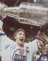Wayne Gretzky Signed Oilers 16x20 Photo (JSA COA) at PristineAuction.com