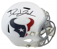 David Johnson Signed Texans Full-Size Speed Helmet (Beckett COA) at PristineAuction.com