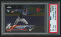 Ronald Acuna Jr. 2018 Topps Chrome Update #HMT31 RC (PSA 10) at PristineAuction.com