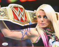 Alexa Bliss Signed WWE 8x10 Photo (JSA COA) at PristineAuction.com