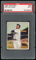 Ted Williams 1950 Bowman #98 (PSA 5) at PristineAuction.com