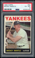 Mickey Mantle 1964 Topps #50 (PSA 6) at PristineAuction.com