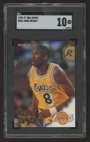 Kobe Bryant 1996-97 Hoops #281 RC (SGC 10) at PristineAuction.com