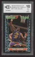 Karl Malone 1992-93 Stadium Club Members Only Parallel #BT17 (BCCG 10) at PristineAuction.com