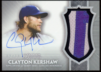 Clayton Kershaw 2017 Topps Dynasty Autograph Patches #APCE2 at PristineAuction.com