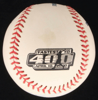 "Ken Griffey Jr. Signed LE ""First to 400"" OML Baseball (JSA COA) at PristineAuction.com"