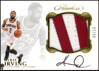 Kyrie Irving 2016-17 Panini Flawless Star Swatch Signatures Gold #29 at PristineAuction.com