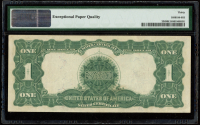 """1899 $1 One-Dollar """"Black Eagle"""" U.S. Silver Certificate Large-Size Bank Note (PMG 30) (EPQ) at PristineAuction.com"""