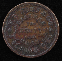1864 P. V. Fort & Co. Grocer Token - Civil War Currency at PristineAuction.com