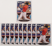 Lot of (10) 2013 Bowman Draft #40 Christian Yelich RC Baseball Cards at PristineAuction.com