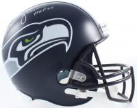 "Warren Moon Signed Seahawks Full-Size Helmet Inscribed ""HOF 06"" (Beckett COA) at PristineAuction.com"