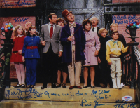 """Willy Wonka & the Chocolate Factory"" 11x14 Photo Signed by (6) With Gene Wilder, Peter Ostrum, Julie Dawn Cole, Denise Nickerson With Multiple Inscriptions (PSA COA & JSA LOA) at PristineAuction.com"