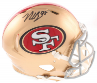 Nick Bosa Signed 49ers Full-Size Authentic On-Field Speed Helmet (Radtke COA) at PristineAuction.com