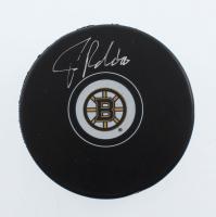 Tuukka Rask Signed Bruins Logo Hockey Puck (YSMS COA) at PristineAuction.com
