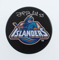 Johnny Boychuck Signed Islanders Logo Hockey Puck (YSMS COA) at PristineAuction.com