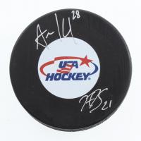 Hilary Knight & Amanda Kessel Signed Team USA Logo Hockey Puck (Sports Collectibles Hologram & JSA COA) at PristineAuction.com