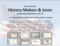 History Makers & Icons Cut Signature Mystery Box at PristineAuction.com