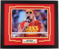 Hulk Hogan Signed WWE 18x22 Custom Framed Photo Display (JSA COA) at PristineAuction.com