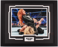Becky Lynch Signed WWE 18x22 Custom Framed Photo Display (JSA COA) at PristineAuction.com
