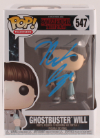 "Noah Schnapp Signed ""Stranger Things"" Ghostbuster Will #547 Funko Pop! Vinyl Figure (JSA COA) at PristineAuction.com"