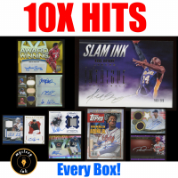 Mystery Ink 10X Hits Mystery Box - 10 Autos / Jerseys / Relics Cards in Every Box! at PristineAuction.com