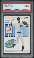 Derek Jeter 1993 Score #489 RC (PSA 10) at PristineAuction.com