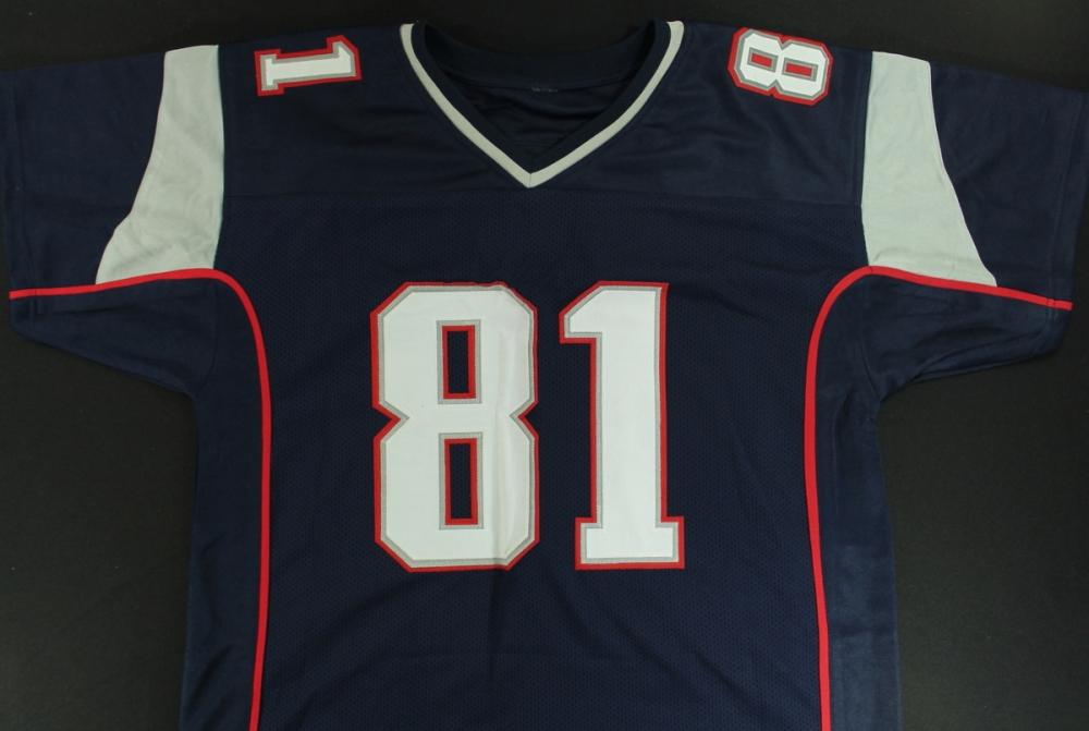 Aaron Hernandez Signed Patriots Jersey (Hernandez COA) at  PristineAuction.com ab265c8a9