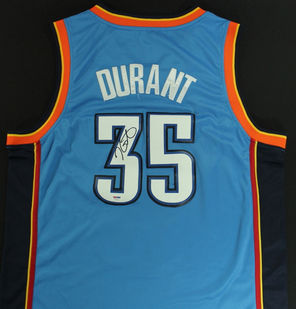 ee782957e ... where to buy kevin durant signed thunder jersey psa coa at  pristineauction b0bd8 37b63