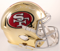 Joe Montana Signed 49ers Full-Size Chrome Speed Helmet (Beckett COA) at PristineAuction.com