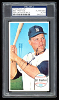 Bill Freehan Signed 1964 Topps Giants #30 (PSA Encapuslated) at PristineAuction.com