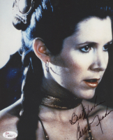 "Carrie Fisher Signed ""Star Wars"" 8x10 Photo Inscribed ""Best Wishes"" (JSA COA) at PristineAuction.com"