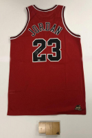 Michael Jordan Signed Bulls LE Jersey with Final Game Floor Piece (UDA COA) at PristineAuction.com