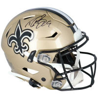 Drew Brees Signed Saints Full-Size Authentic On-Field SpeedFlex Helmet (Fanatics Hologram) at PristineAuction.com