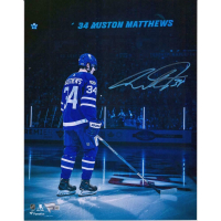 Auston Matthews Signed Maple Leafs 11x14 Photo (Fanatics Hologram) at PristineAuction.com