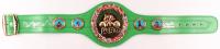 Roberto Duran, Thomas Hearns & Sugar Ray Leonard Signed WBC Full-Size Heavyweight Championship Belt (Beckett COA) at PristineAuction.com