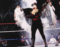 """Papa Shango Signed WWE 11x14 Photo Inscribed """"Beware of Voodoo"""" (Playball Ink Hologram) at PristineAuction.com"""