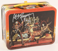 "Ace Frehley Signed ""Kiss"" Original 1977 Thermos Lunchbox (JSA COA) at PristineAuction.com"