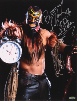 """The Boogeyman Signed WWE 11x14 Photo Inscribed """"I'm Coming To Getcha"""" (Playball Ink Hologram) at PristineAuction.com"""