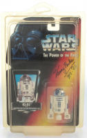 "Kenny Baker Signed ""Star Wars: The Power of the Force"" Action Figure Inscribed ""R2-D2"" (JSA COA) at PristineAuction.com"