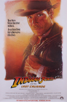 "Vintage 1989 ""Indiana Jones & the Last Crusade"" 27x40 Movie Poster at PristineAuction.com"