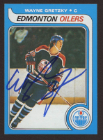 Wayne Gretzky Signed 1979-80 Topps #18 RC Reprint (JSA Hologram) at PristineAuction.com