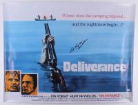 """Burt Reynolds Signed """"Deliverance"""" 30x40 Movie Poster Inscribed """"Lewis Medlock"""" (JSA COA) at PristineAuction.com"""