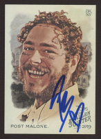 Post Malone Signed 2019 Topps Allen and Ginter #176 (JSA COA) at PristineAuction.com