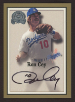 Ron Cey 2000 Greats of the Game Autographs #19 at PristineAuction.com