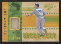 Joc Pederson 2019 Panini Leather and Lumber Sweet Feet #10 at PristineAuction.com